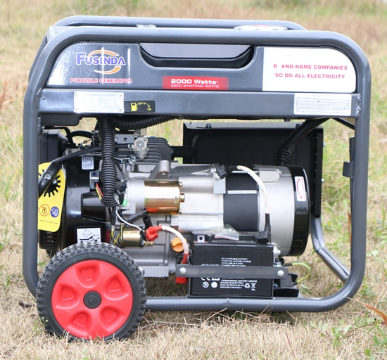 2kw CE Portable Gasoline Generator Petrol with AVR