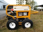 7500 Watts Portable Power Gasoline Generator with RCD and 4 X pneumatic Large Wheels (GP8000SE)